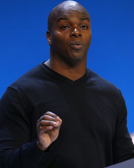 Shaun Bailey speaking at a Conservative Party Conference. Picture: Chris Ison/PA Archive/PA Images