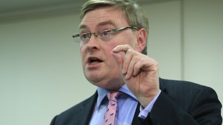 David Campbell Bannerman speaking at an Alternatives to EU Membership conference. Picture: Jonathan