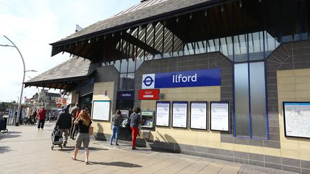 Ilford Station.