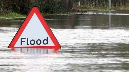 Flood alerts are in force tonight for Lowestoft and Southwold. Pic: Steve Parsons/PA Wire