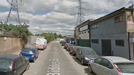 The attack took place in Bidder Street. PICTURE: Google StreetView
