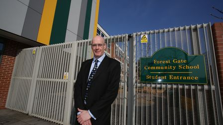 Forest Gate Community School headteacher Simon Elliott
