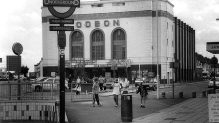 The Odeon cinema in Gants Hill stood for 69 years and played a large part in supporting the local co