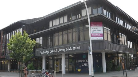 Redbridge Central Library, where the museum is based