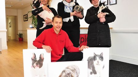 Lowestoft Journal Pets on Parade competition winners collect prizes from Picture StudiosMatt Goddard