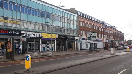 A man in his 30s was stabbed in Gants Hill. Picture: Ken Mears