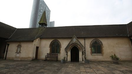 Ilford Hospital Chapel is the town's oldest building