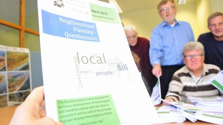Kessingland Parish council are set to hold a consultation over the village plan.