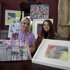 Ivy Panesar and Philipa Day are local artists putting on an exhibition. Photo by Ellie Hoskins
