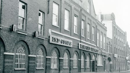Romford Brewery in 1980. Picture: Havering Libraries - Local Studies
