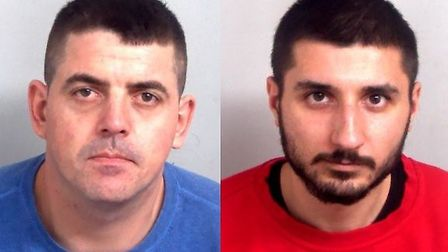 Marian Beresoane, left, of Ilford, and Robert-Marian Stanciu, of Dagenham, were jailed. Picture: Ess