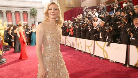 Actress Cate Blanchett at the Oscars. (Photo by Christopher Polk/Getty Images)
