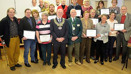 Its your neighbourhood certificate presentation. Picture: MICK HOWES