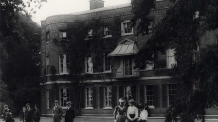 A garden party at Valentines Mansion in 1910. Picture: Redbridge Local Studies and Archives