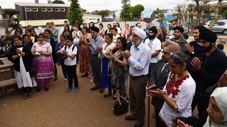 Elmhurst Primary School holding a memorial service for one of its governors, Parmjit Singh Karir, w
