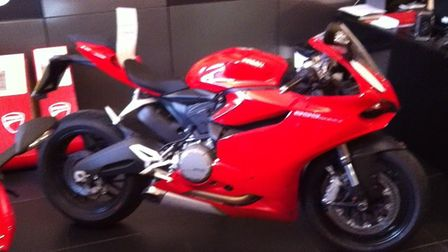 The Ducatai superbike that Eugene Williams bought with £10,000 cash. PICTURE: Met Police