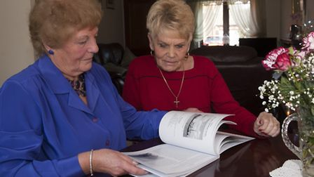 Norma Roberts and Margaret Savidge lost their husbands on the Boston Pionair