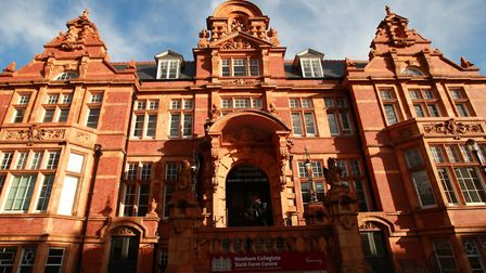 Newham Collegiate Sixth Form Centre is in East Ham