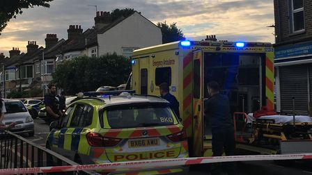 A man has been stabbed in White Horse Road in East Ham, Newham