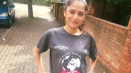 Nadia Shah will be taking part in the Great Newham London Run (Pic: Run Communications)