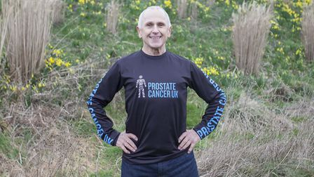 Wayne Sleep will be leading the March for Men in the Olympic Park this weekend to raise awareness of