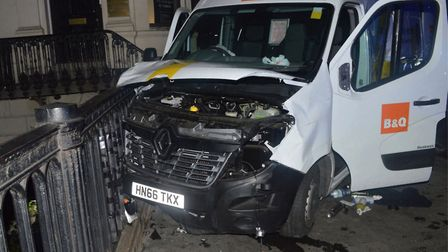 The white Renault van used in the London Bridge attack on June 3 was hired in Harold Hill. Picture: