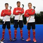 Phil Roper, George Pinner and Ian Sloane will captain England at the Hockey World League Semi-Final