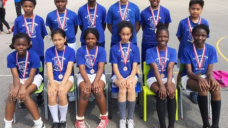 St Edward's were runners-up at a key stage two mixed handball competition staged by the Langdon Acad