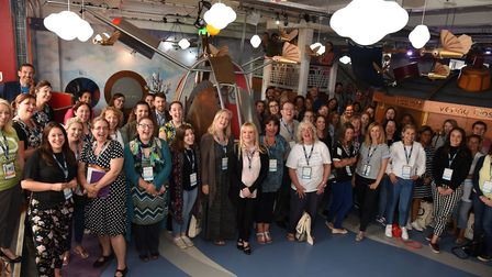 Teachers at a major teaching seminar hosted by the Discovery Children's Story Centre