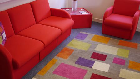 East Thames housing assocation has created a cosy family space. PICTURE: East Thames