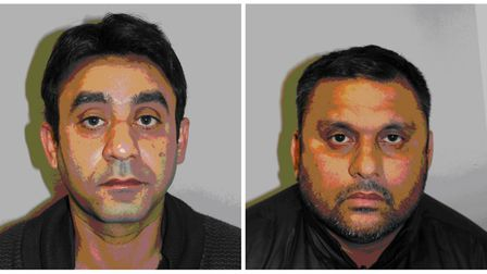 Qazi Shahid and Muhammed Akram (Picture: Home Office)