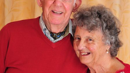 Joan Brown, 86, and Jack King, 87 got engaged on Valentine's Day.