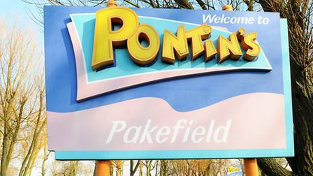 The Pontins site in Pakefield, which will hold the antiques fair. Picture: James Bass.