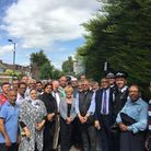 Mike Gapes MP met with residents and members of the police force to discuss concerns over prostiutio