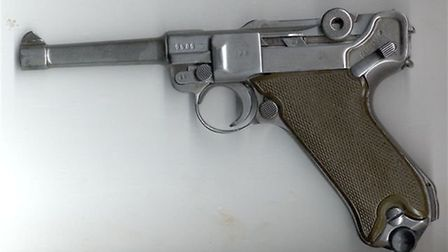 A German Luger P08. Photo: Wikimedia commons