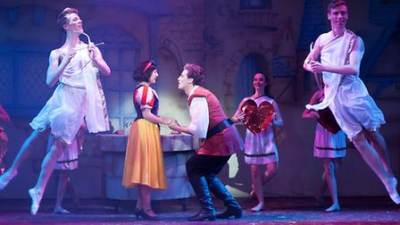 SUCCESS: A scene from Snow White at Lowestofts Marina Theatre. Now the venue is planning for this ye