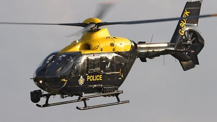 Suffolk's police helicopter. Picture: Gary Stedman.