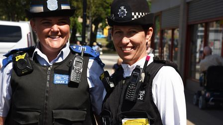 The Harold Wood, Heaton and Gooshays SNT out and about doing their work in the commmunity. Picture:
