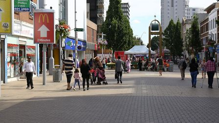 General view of Ilford town centre. Picture: Paul Bennett