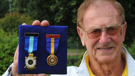 Peter Dukes, 80, from Poringland, has been a member of the Lowestoft Volunteer Lifeguard Corps for 6