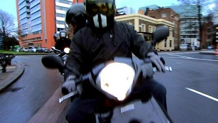 A 16-year-old boy has been sentenced to 14 months in youth detention after a series of moped mounted