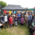 Transform Newham invited families to the East Ham community garden for an interfaith celebration to