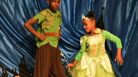 Highlands Primary School performing their showcase rendition of Peter Pan