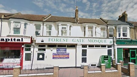 A letter was sent to the Forest Gate mosque (Picture: Google Maps)