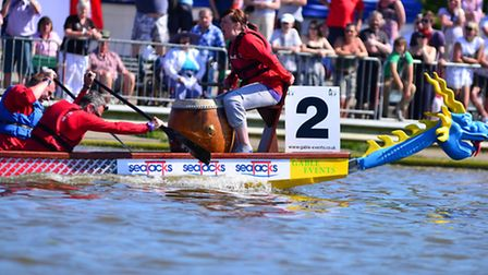 The East Anglian Dragon Boat Festival returns to Lowestoft in 2015.