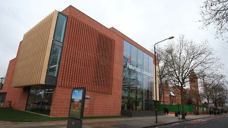 The East Ham Library and Customer Service centre in Barking Road.