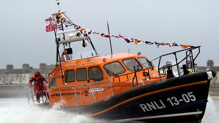 Lowestoft lifeboat Patsy Knight. Picture: MICK HOWES/RNLI