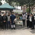 Muslims feed the homeless in Stratford to celebrate Eid Picture: Rukhsana Khan Foundation