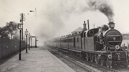 Charles Perfect took the train from Hornchurch Station to Fenchurch Street every day. Picture: Upmin