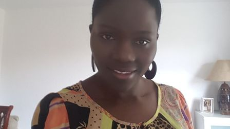 Florence Kiggundu, 38, of Woodford Green, has been highlighting the importance of blood donors as pa
